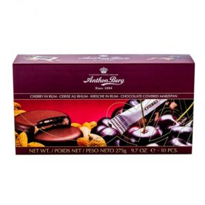 Anthon Berg Cherry in Rum Liquer Chocolate Box