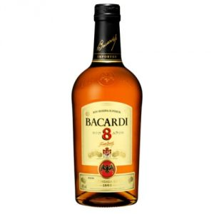 Bacardi 8 Anos Rum