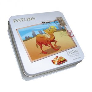Camel Fruit and Nuts Tin