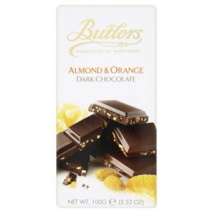Dark Orange-Almond Chocolate