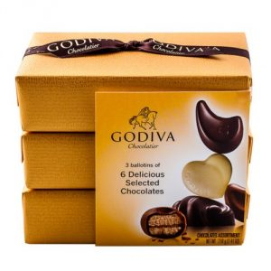 Gold Ballotin Chocolate Gift Box