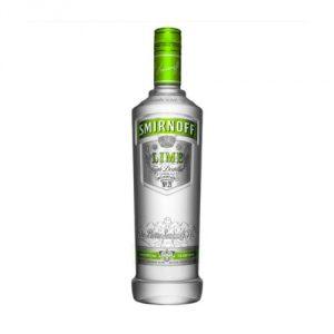Smirnoff Lime Vodka 1L