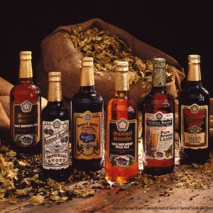 Some of Samuel Smith's Speciality Bottled Beers
