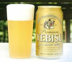 Yebisu Beers